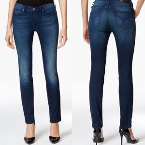 Calvin Klein ultimate skinny dark wash jeans
